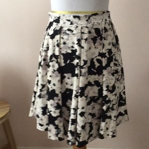 Twirly floral skirt